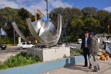 Nueva escultura para Villa Adelina
