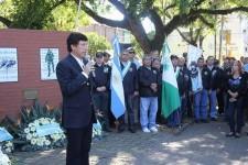 Villa Adelina rindió homenaje a los caídos en Malvinas
